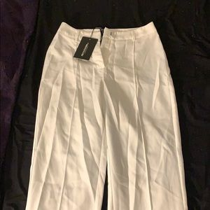 Brand New Pretty Little Things White Trousers